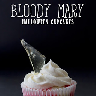 """Bloody Mary"" Cupcakes"