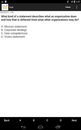 PHR(Professional HR) Test Prep - screenshot