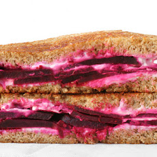 Roasted Beet and Chèvre Grilled Cheese Recipe