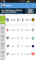 Screenshot of Fútbol Uruguay