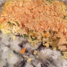 Veggie Chicken Rice Casserole