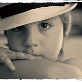 Rhapsody in black and white by Europa Films - People Portraits of Men ( old, children, portrait, hat, eyes )
