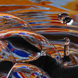 Ripple Effect by Michael Schwartz - Abstract Water Drops & Splashes
