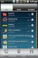 Screenshot of App Backup & Reinstall