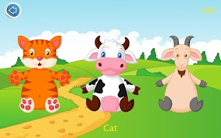 Screenshot of Farm Animal Sounds for Kids