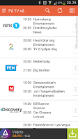 Screenshot of TV Guide Norge