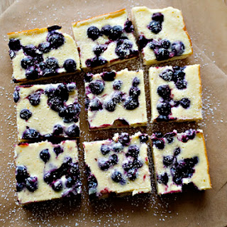 Blueberry Cheesecake Bars Recipes