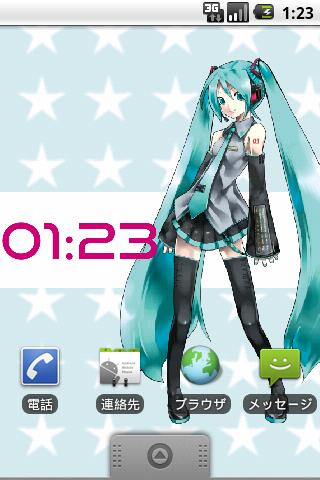 Hatsune Miku Live Wallpaper