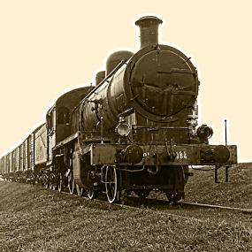 PARNA LOKOMOTIVA by Zeljko Sajko-Saja - Transportation Trains ( pruga, vozila, vlak, prijevoz,  )