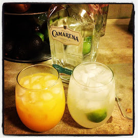 Happiness hanging with a dear friend by Amy Schuster - Food & Drink Alcohol & Drinks