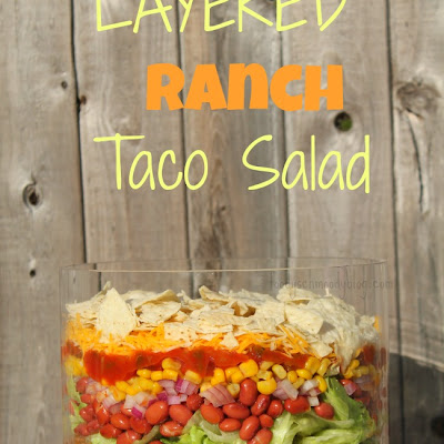 Layered Ranch Taco Salad