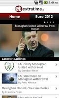 Screenshot of Extratime.ie