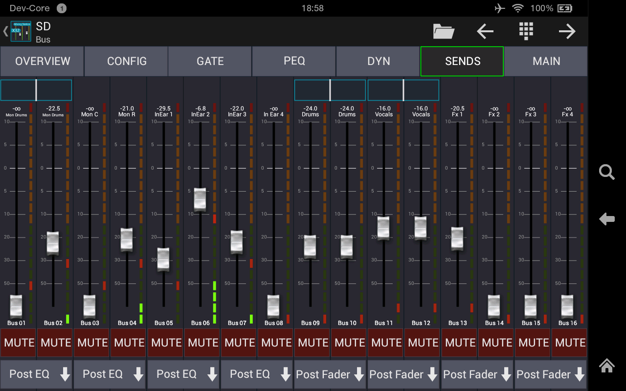 Mixing Station XM32 Pro Screenshot 15