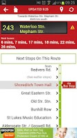 Screenshot of Bus Guru Live London Bus Times
