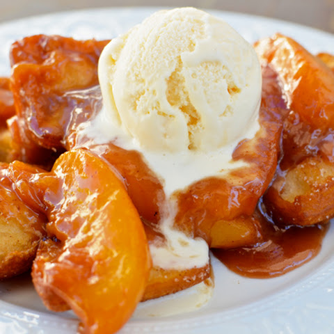 Bourbon Peaches & Beignets