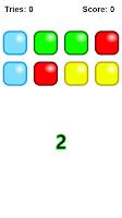 Screenshot of Memory Game - Colors! Free