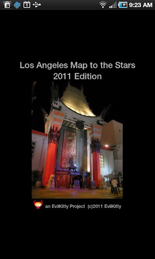 LA Movie Star Map
