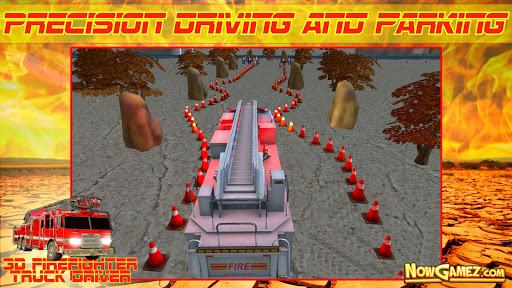 3D Firefighter Truck Driver - screenshot