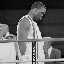 Heavyweight boxer Michael Grant by Stephen Jones - Sports & Fitness Boxing