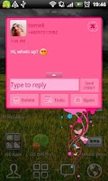 Screenshot of GO SMS Pro Fairy Theme
