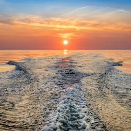 goodbyte by Richard Larssen - Landscapes Sunsets & Sunrises ( richard larssen, larssen, richard )