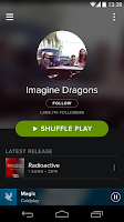 Screenshot of Spotify Music