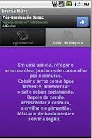 Screenshot of Receita Móvel Free