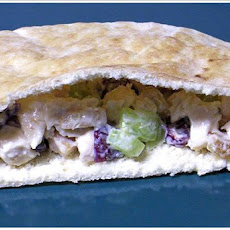 Dried Cherry Toasted Almond Turkey Salad Sandwiches