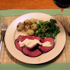 Blue Cheese Beef Tenderloin