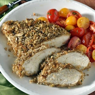 Onion-Crusted Chicken