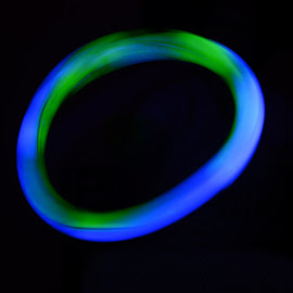 UFO by Prasanta Das - Abstract Light Painting ( ring, ufo, light )