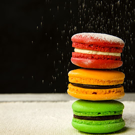 Sugar loaded by Ah Zai - Food & Drink Candy & Dessert ( colour, life, food, closeup, macaroons )