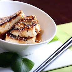 Easy Sesame Glazed Tofu