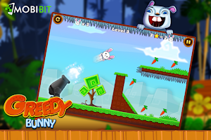 Screenshot of Greedy Bunny:Slingshot Shoot