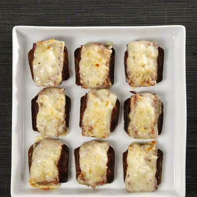 Mini Open-Faced Corned Beef Sandwiches