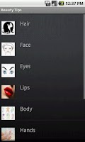 Screenshot of Beauty Tips For Men & Women