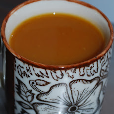 Carrot & Coconut Milk Soup