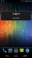 Screenshot of SD DigiClock Widget