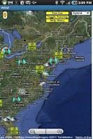 Screenshot of WAM - World Alerts Mapping