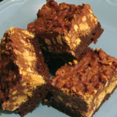 Peanut Butter Crunch Brownies