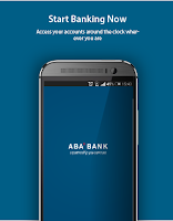 Screenshot of ABA Mobile App