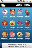 Screenshot of Astro Meteo (ze Horoscope)