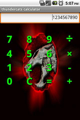 Thundercats Calculator