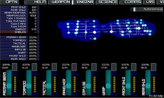 Screenshot of Artemis Spaceship Bridge Sim