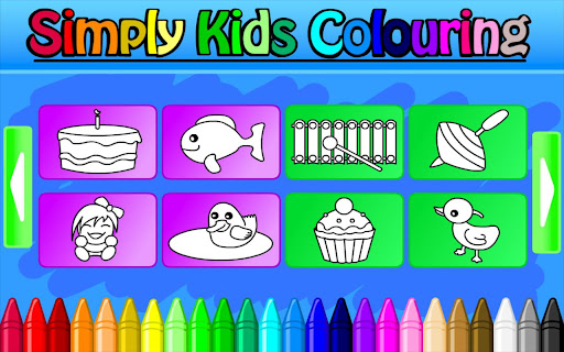 Simply Kids Colouring