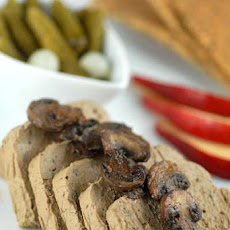 Chicken Liver Pate w/ Mushrooms