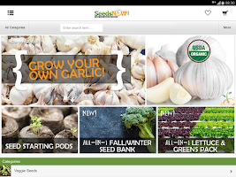 Screenshot of SeedsNow