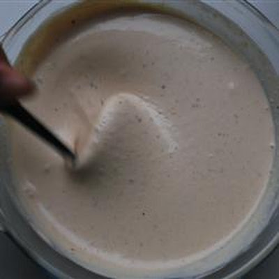 Outrageous Creamy Garlic Salad Dressing