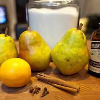 Vanilla Poached Pears Recipes