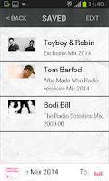 Screenshot of Electronic Beats Radio